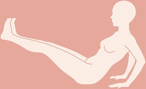腸腰筋を引き締めるエクササイズ1